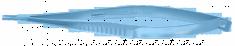 BARRAQUER PORTA AGULHA, FORTE 12mm,Reto C/Trava