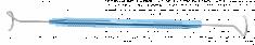 PIGTAIL SONDA LACRIMAL, 12mm Com Olhos